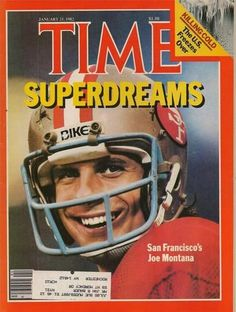 TIME MAGAZINE ~ JANUARY 25 1982 ~ 1/25/82 ~ SAN FRANCISCO'S JOE MONTANA