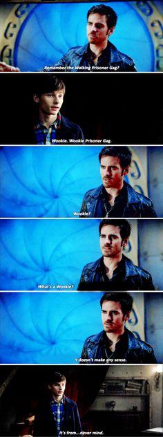 "Henry and Killian - 6 * 6 ""Dark Waters"" #CaptainCobra"