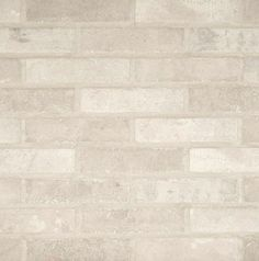 Ivory Brick 2-1/3 in. x 10 in. Glazed Porcelain Floor and Wall Tile