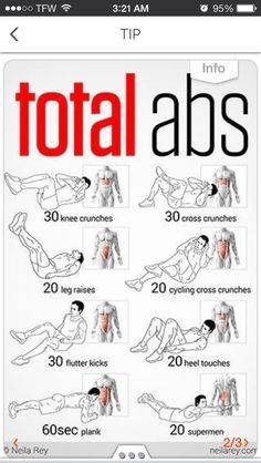 ~Total Abs~ Know Which Exercise To Do To Get The Abs You Ever Wanted!!!