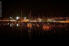 Uma marina em Lagos-Portugal
