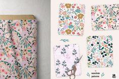 Summer Garden, Kit, Floral, Flowers, Flower