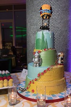 Land Of Oz, Wizard Of Oz, Conference, All Things, Weddings, Bridal, Dinner, Cake, Desserts