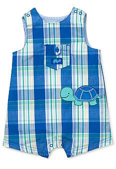 Little Me Turtle Sunsuit