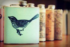 bird drinking can