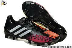 Fashion Black/Silver/Infrared Adidas Predator LZ TRX FG SL Boots Soccer Boots Store