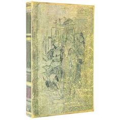 Distressed Ancient Warrior Lined Book Box