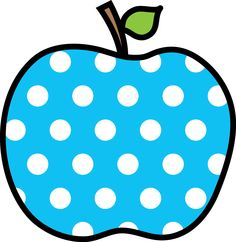 *✿*UY..QUE TE COMO*✿* Polka Dot Art, Polka Dots, Autumn Activities, Art Activities, Apple Theme Parties, Apple Picture, Do A Dot, School Clipart, Cute Clipart