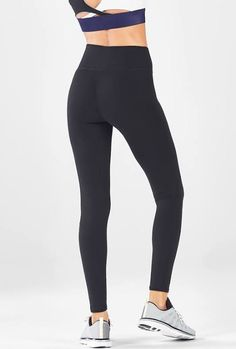 3e905db5970c0 high waisted black leggings fabletics sm Tight Leggings, Black Leggings,  Plus Size Workout,
