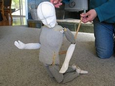 Bunraku-style puppets by Hil, via Flickr