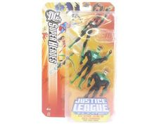 "Justice League DC Super Heroes: Kyle Raynor, Katma Tui & Arkis Chummuck by Mattel. $21.98. Green Lantern 3 Pack included. Figures are about 4.75"" tall. Justice League Unlimited DC Superheroes. From the Manufacturer                Justice League Green Lantern three pack #2. Justice League action heroes unite to fight evil. Three approximately 4.75 figures come in each pack based on an episode of the series. Collect them all!                                    Product Desc..."