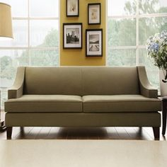 winslow taupe brown sofa $494
