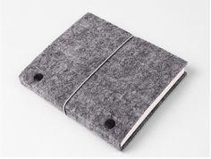 Wool Felt & Binding Thread Notebook