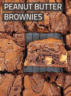 These are my super fudgy, chewy, and sinfully easy peanut butter brownies. No need for box recipes when you can make homemade ones from scratch so easily! Love me or hate me - I have even added nutella for good measure! #chefnotrequired #brownies #peanutbutter Nutella Snacks, Nutella Brownies, Peanut Butter Brownies, Peanut Butter Chips, Peanut Butter Recipes, Nutella Peanut Butter, Brownie Recipes, My Recipes, Sweet Recipes