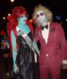 future Halloween couple costume - Beetlejuice & Miss