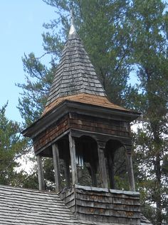 108. Detail - Penturin Church of the Pines located on a trail that ends deep in the woods of Beltrami Forest, Roseau County, Minnesota - Photo by Felix Korczak 2013