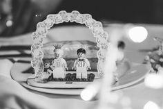 Lego cake couple