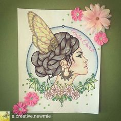 Repost from - I love how she turned out! My favorite coloring so far - Hanna Karlzon, Insta Art, Coloring, Pencil, Victoria, Colour, My Favorite Things, My Love, Creative