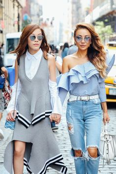 NYFW Street Style: See the Photos   Teen Vogue
