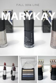I have the wonderful pleasure of being able to share the Mary Kay 2016 Fall line with you all! In the collection we have eight different gel semi-matte lipstick shades, two shades of Glowing Finish Illuminating Sticks, three nail lacquers, an eye colour palette and last but not least a gel liner duo!