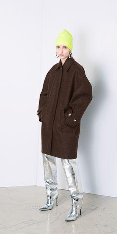 Balenciaga Cocoon Coat   Balenciaga.com