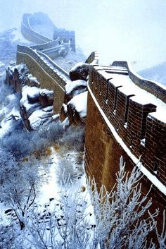 The Great Wall after snow