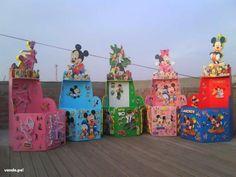 Cajas para regalos de cumpleaños infantiles - Imagui