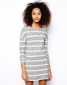 striped tshirt dress
