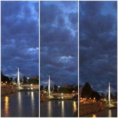 8-10-2015. Nubes en Murcia.