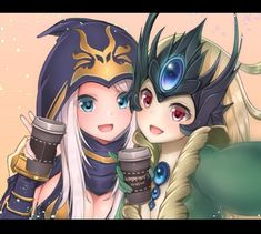 Ashe & Nami | Эш и Нами @League of Legends | Лига Легенд #LoL #ЛоЛ