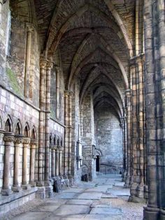 Castle Photo Archive, Hollyrood Abbey