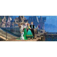 Jégvarázs Anna és Elsa gyerek poszter (202 cm x 90 cm)