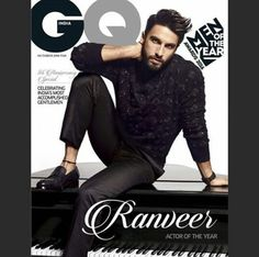 ranveer singh gq magzine cover photo