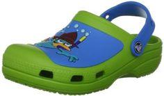 crocs SS13 Phineas Ferb Clog (Toddler/Little Kid),Volt Green/Ocean,12 M US Little Kid crocs. $34.99