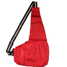 Oxford Sling Dog Cats Carrier soft pets outdoor travel Bag free size red -- For more information, visit image link.(This is an Amazon affiliate link and I receive a commission for the sales)