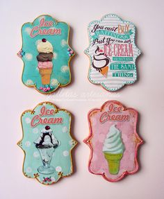 Vintage ice cream {Descarga gratuita}