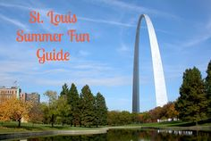 Keeping up with the Kiddos: 2013 St. Louis Summer Fun Guide - Some events on this list are time sensitive and have specific dates, but most are activities that can be done any Summer at any time :) Saint Louis Arch, St Louis, Craft Activities For Kids, Summer Activities, Summer Fun, Summer Time, Stuff To Do, Things To Do, Kid Stuff