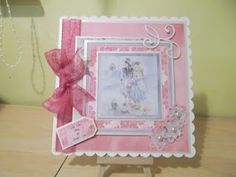 Paintbox Poppets Mothers Day card