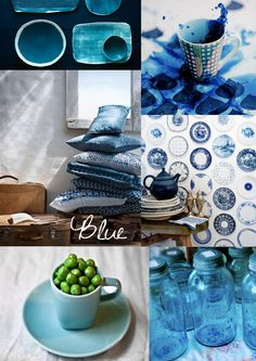 Blue, water, moadboard, inspiration
