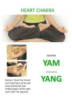 ∆ Heart Chakra...SELF-HEALING: MANTRAS AND MUDRAS FOR CHAKRA MEDITATION