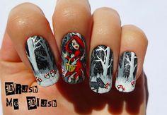 Brush me Blush: Little Red Riding Hood  #nail #nails #nailart