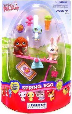 Littlest Pet Shop Figures Exclusive Spring Egg 3-Pack with Beagle, Blue Birdie and White Bunny, http://www.amazon.com/dp/B000NNGEHM/ref=cm_sw_r_pi_awdm_CbPiwb1GWX36T