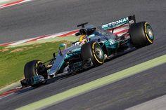 F1 バルセロナテスト 2日目:ルイス・ハミルトンが午前のトップタイム  [F1 / Formula 1]