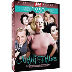 The Nifty Fifties: 50 Movies (Full Frame) $17.96