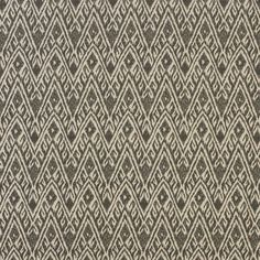 Lee Industries Fabric: Winston Pewter fabric (as seen on chair in Rejuvenation Lighting, with chocolate leather piping trim detail)