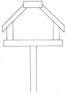 Afbeeldingsresultaat voor vogelhuis tekenen in stappen