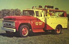 1960's fire engine