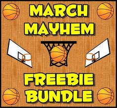 To celebrate the March college basketball tournament the Tools for Teaching Teens group has put together a collection of their best six freebies into one bundle.  While the selection committee struggles to fill the brackets with deserving teams, all you have to do is hit the download button to select six free products.We will also be giving away six paid products once the national champion has been crowned.