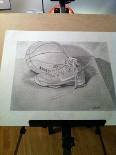 basketball pencil drawing - Google Search