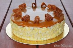 Karamelltorta Gourmet Recipes, Sweet Recipes, Cookie Recipes, German Cake, Hungarian Recipes, Tea Cakes, Sweet And Salty, Cakes And More, Food To Make